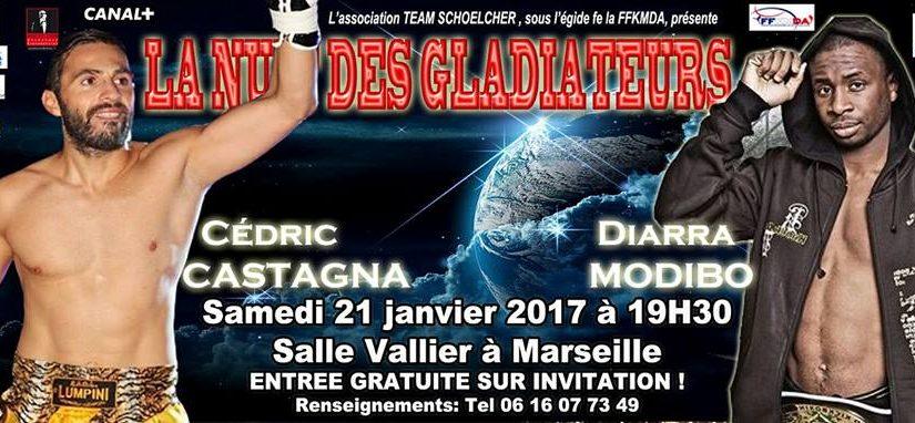 Combat Castagna vs Modibo à Marseille