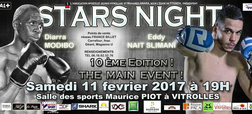 Samedi 11 février Modibo à la Stars Night 2017